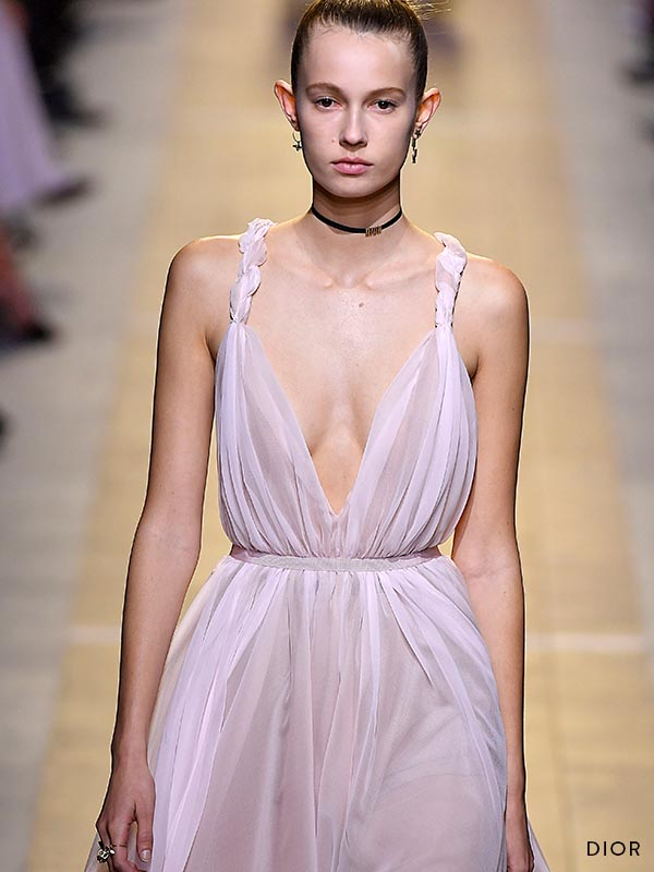 Layer Trendy Pastel Lingerie with Dior