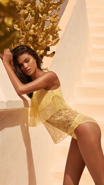 Andres Sarda Lingerie BENAGIL Light Yellow