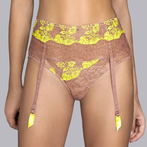 Andres Sarda - GEORGETTE - garter belt Front