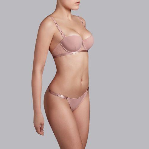 Andres Sarda - strapless bra Front4