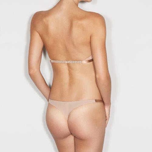 Andres Sarda - CINNAMON - strapless bra Front5