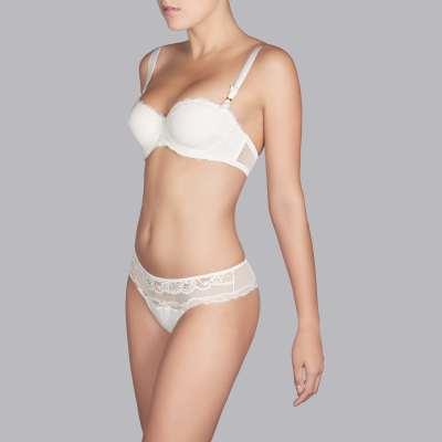 Andres Sarda - strapless bra Front3