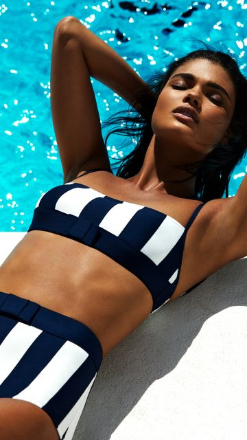Andres Sarda Swimwear AZURA Water Blue