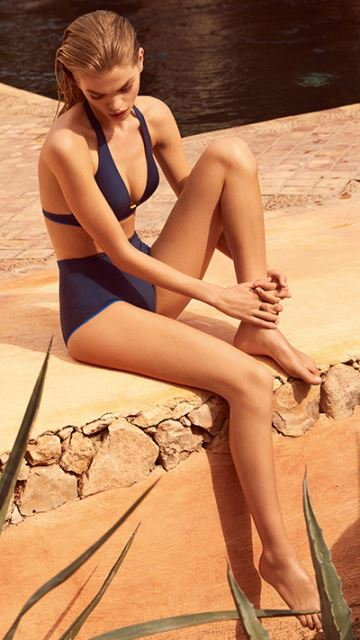 Andres Sarda Swimwear BOHEME night sky