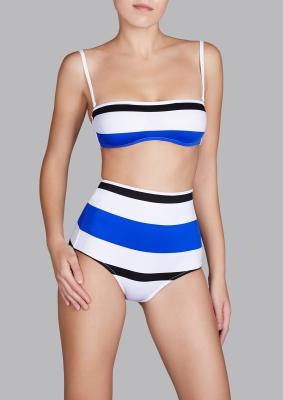 Andres Sarda Swimwear - strapless bikini Modelview
