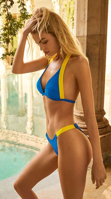 Andres Sarda Swimwear MOD electric blue