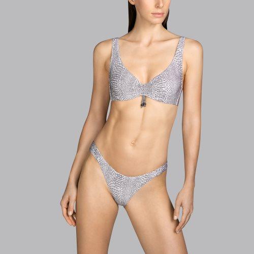 Andres Sarda Swimwear - PEACE - bikini slip front2