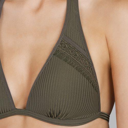 Andres Sarda Swimwear - ARACARI - bikini top halter Front4