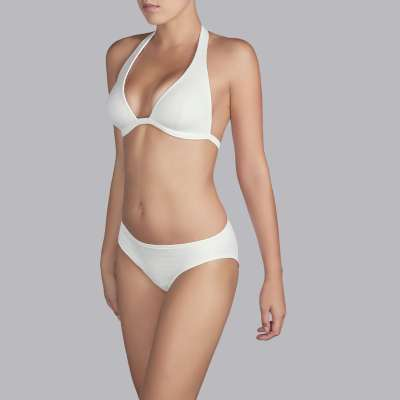 Andres Sarda Swimwear - bikini top halter Front3