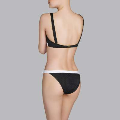 Andres Sarda Swimwear - bikini top halter Front4