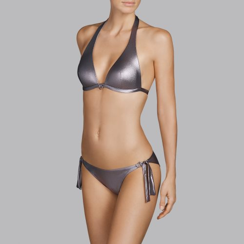 Andres Sarda Swimwear - TANAGER - bikini top halter Front3