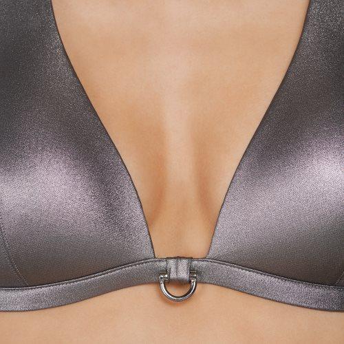 Andres Sarda Swimwear - TANAGER - bikini top halter Front4
