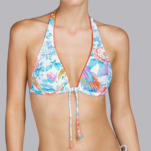 Andres Sarda Swimwear - TURACO - bikini top halter Front