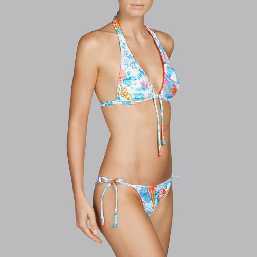 Andres Sarda Swimwear - TURACO - bikini top halter Front3