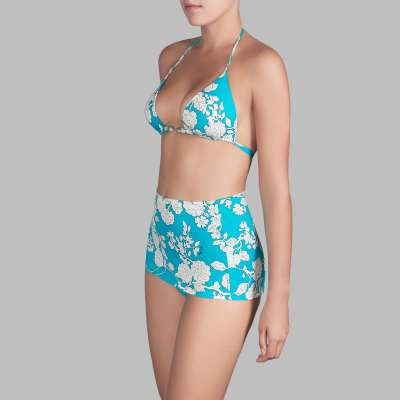 Andres Sarda Swimwear - full briefs Front3
