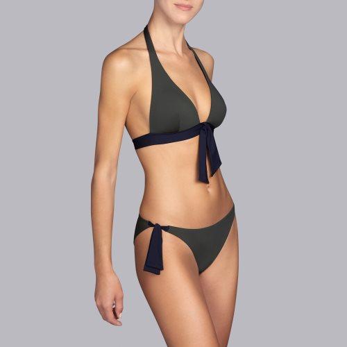 Andres Sarda Swimwear - BELLE - halter bikinitop front3