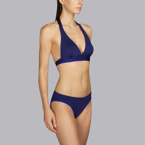 Andres Sarda Swimwear - BOHEME - halter bikinitop front3