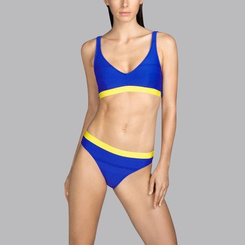 Andres Sarda Swimwear - MOD - halter bikini top Front2