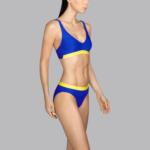 Andres Sarda Swimwear - MOD - halter bikini top Front3