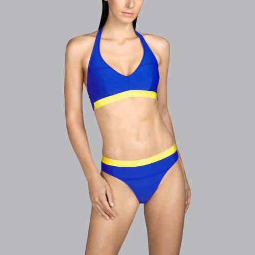 Andres Sarda Swimwear - MOD - halter bikini top Front4