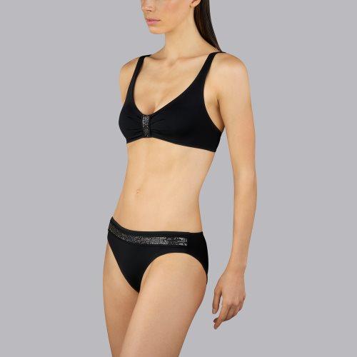 Andres Sarda Swimwear - MOON - halter bikinitop front3