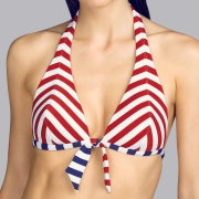 Andres Sarda Swimwear - NAIF - halter bikinitop Front