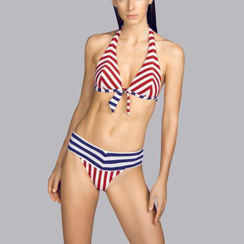 Andres Sarda Swimwear - NAIF - halter bikinitop front2