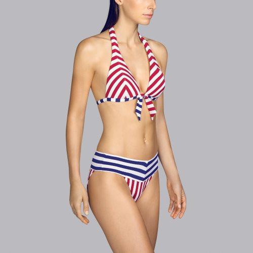 Andres Sarda Swimwear - NAIF - halter bikinitop front3