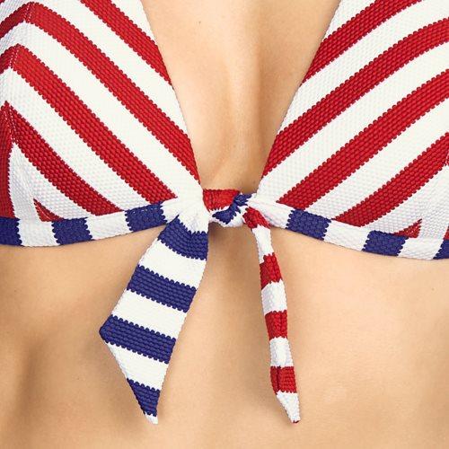 Andres Sarda Swimwear - NAIF - halter bikinitop Front5