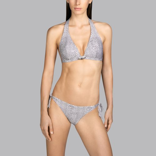 Andres Sarda Swimwear - PEACE - halter bikinitop front2