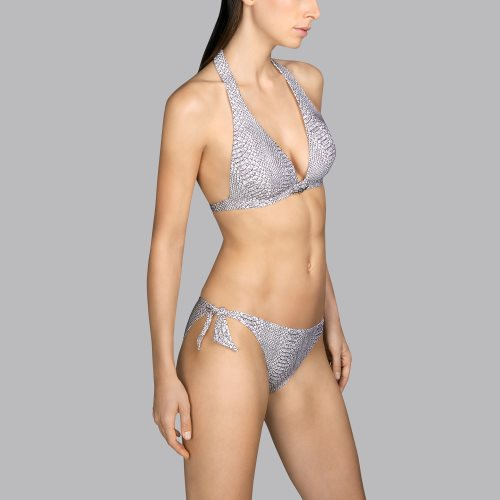 Andres Sarda Swimwear - PEACE - halter bikinitop front3