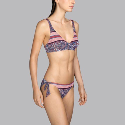 Andres Sarda Swimwear - POWER - halter bikini top Front3