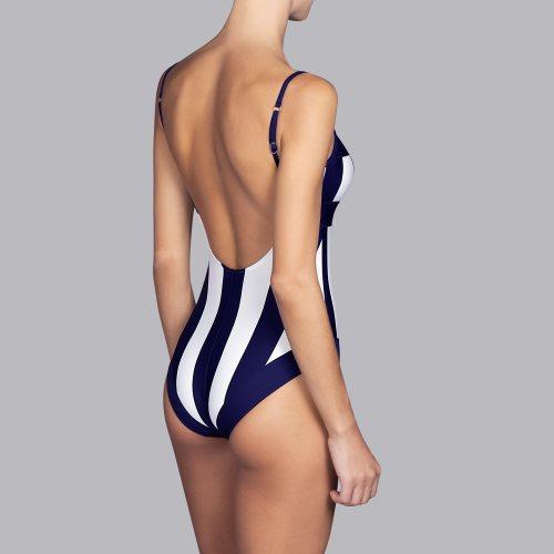 Andres Sarda Swimwear - AZURA - padded swimsuit Front3