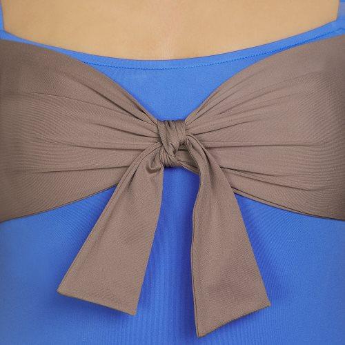 Andres Sarda Swimwear - BELLE - Badeanzug unterlegt Front4