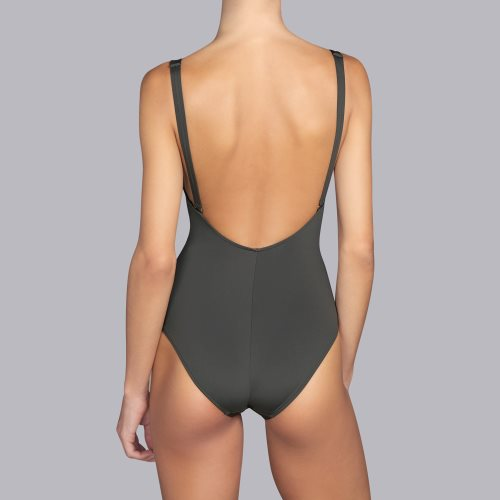 Andres Sarda Swimwear - BELLE - Badeanzug unterlegt Front3