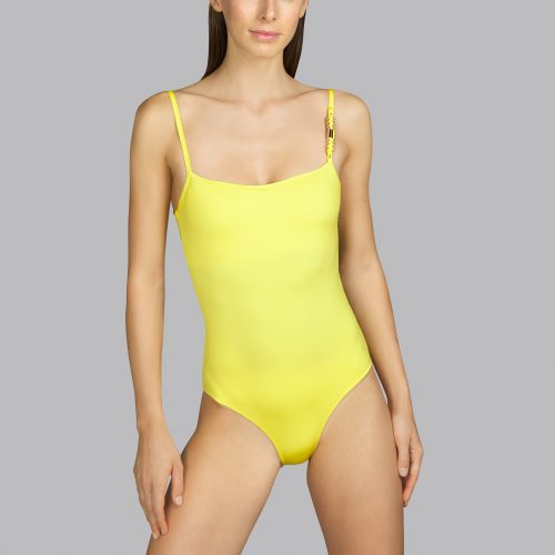 Andres Sarda Swimwear - BOHEME - Badeanzug unterlegt Front