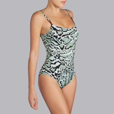 Andres Sarda Swimwear - padded swimsuit Front2