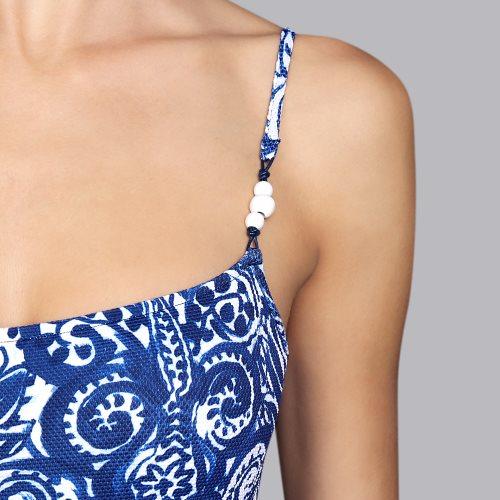 Andres Sarda Swimwear - NECKER - Badeanzug unterlegt Front4