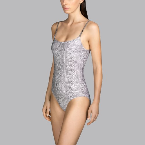 Andres Sarda Swimwear - PEACE - padded swimsuit Front2