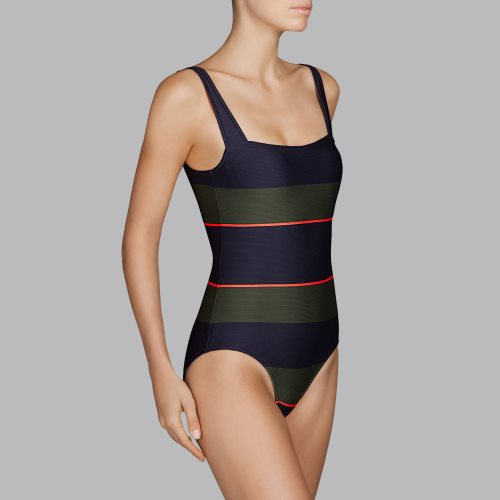 Andres Sarda Swimwear - QUETZAL - padded swimsuit Front2