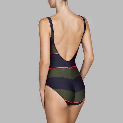 Andres Sarda Swimwear - QUETZAL - padded swimsuit Front3