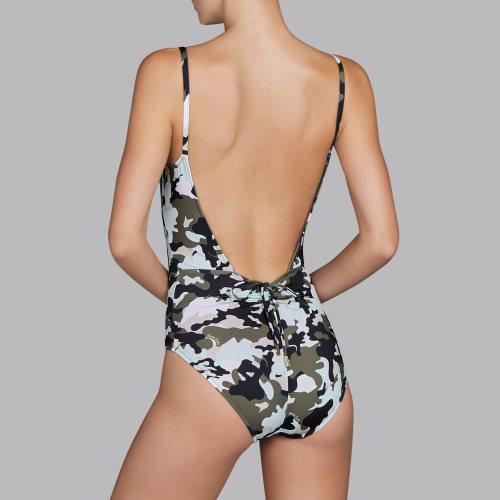 Andres Sarda Swimwear - ROLLER - padded swimsuit Front3