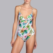 Andres Sarda Swimwear - SHELTER - badpak met mousse cups Front