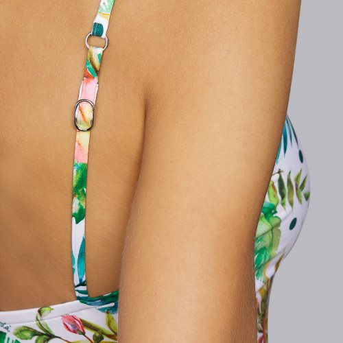 Andres Sarda Swimwear - SHELTER - Badeanzug unterlegt Front6