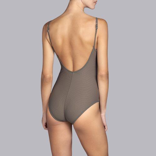 Andres Sarda Swimwear - TANE - Badeanzug unterlegt Front3