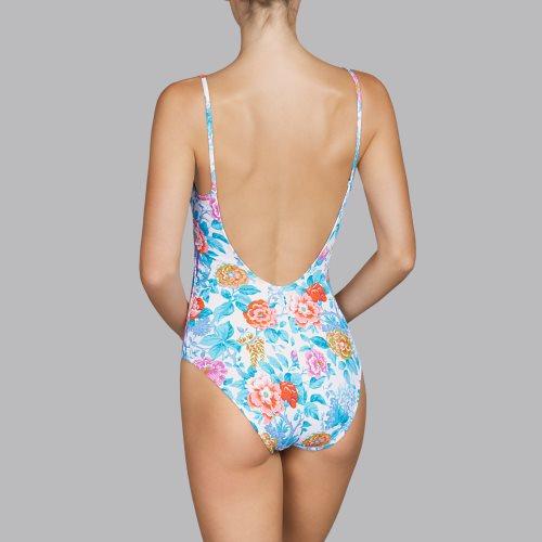 Andres Sarda Swimwear - TURACO - Badeanzug unterlegt Front3