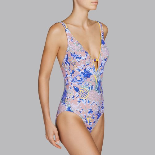 Andres Sarda Swimwear - TURACO - padded swimsuit Front2