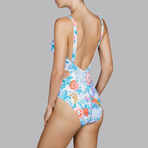 Andres Sarda Swimwear - TURACO - padded swimsuit Front3