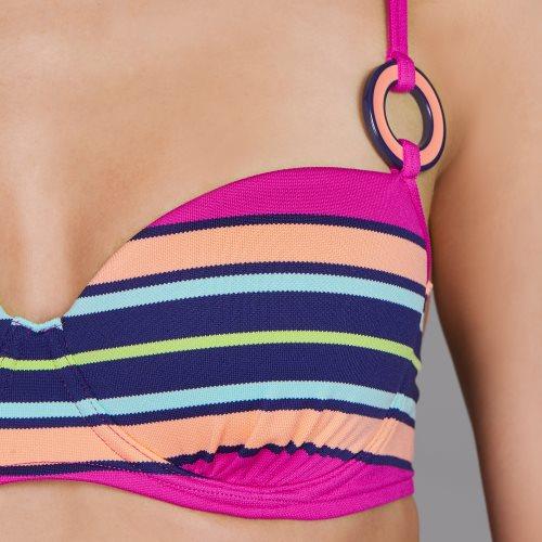 Andres Sarda Swimwear - PITTA - preshaped bikini Front4