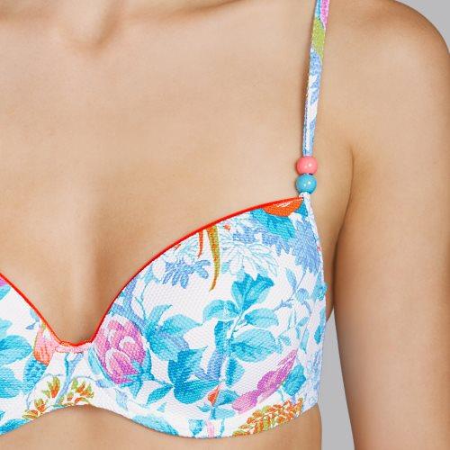 Andres Sarda Swimwear - TURACO - Gemoldeter Bikini Front4